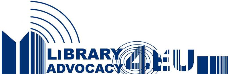 Library Advocacy for EU logo