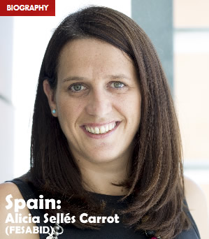 Spain: Alicia Sellés Carot (FESABID)