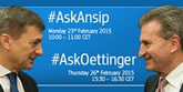 Ask Ansip & Ask Oettinger
