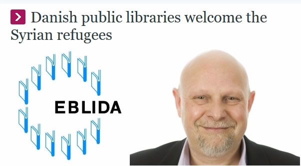Danish public libraries welcome the Syrian refugees