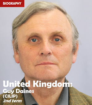 United Kingdom: Guy Daines (CILIP), 2nd term