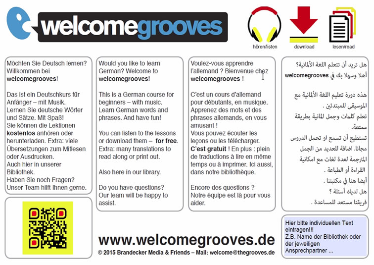 Welcomegrooves Project