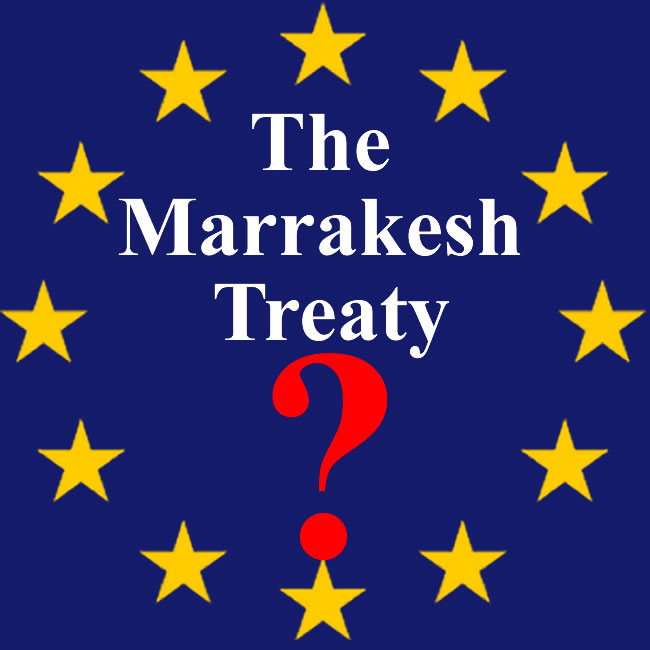 Marrakesh Treaty enters into force in less than three Months' time, but Europe's still not on board