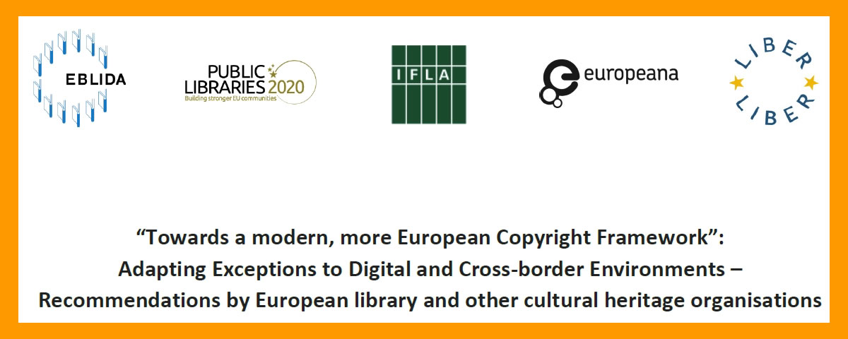 Our claim for copyright reform in Europe