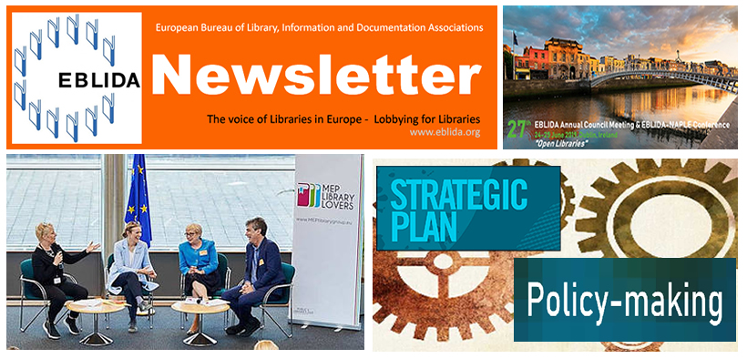 EBLIDA Newsletter Issue No. 5. May 2019