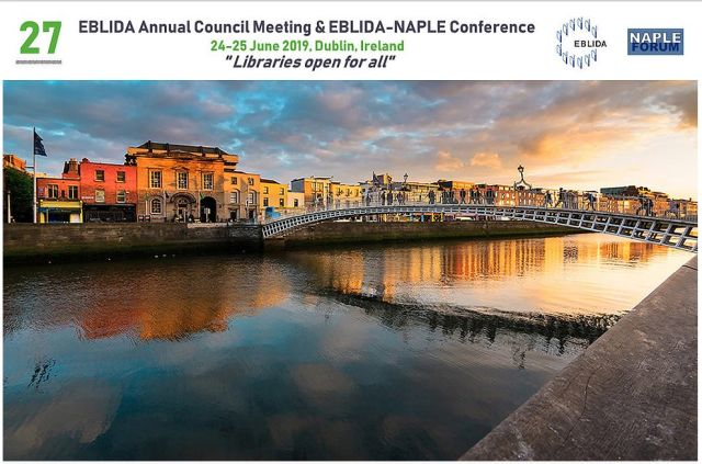 27th EBLIDA Annual Council Meeting & EBLIDA-NAPLE Conference