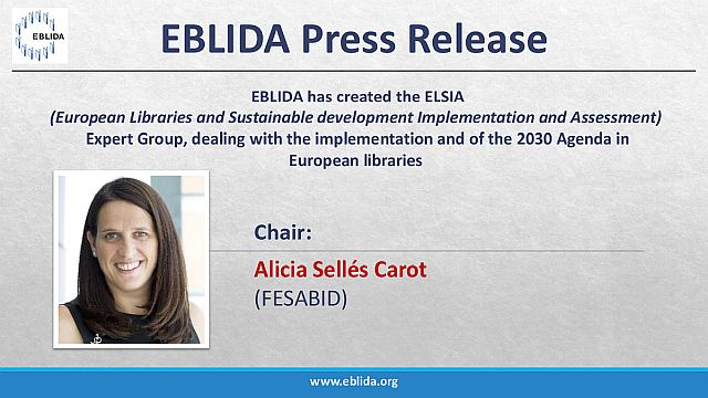 Press release: Creation of the ELSIA Expert Group