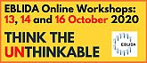 EBLIDA Online Workshops on 13, 14 and 16 October