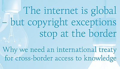 Statements to WIPO SCCR on how information is denied when copyright exceptions stop at the border