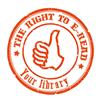 I support EBLIDA's the right to e-read campaign!