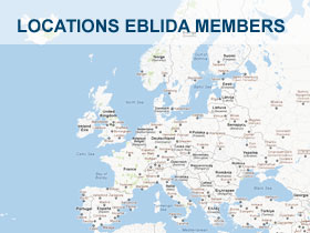 Locations Eblida Members